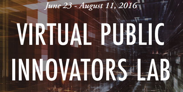 Scholarships available for the Virtual Public Innovators Lab