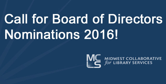 Nominations open for MCLS Board of Directors